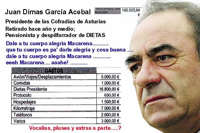 Juan Dimas Garcia Acebal CofradiasAsturias