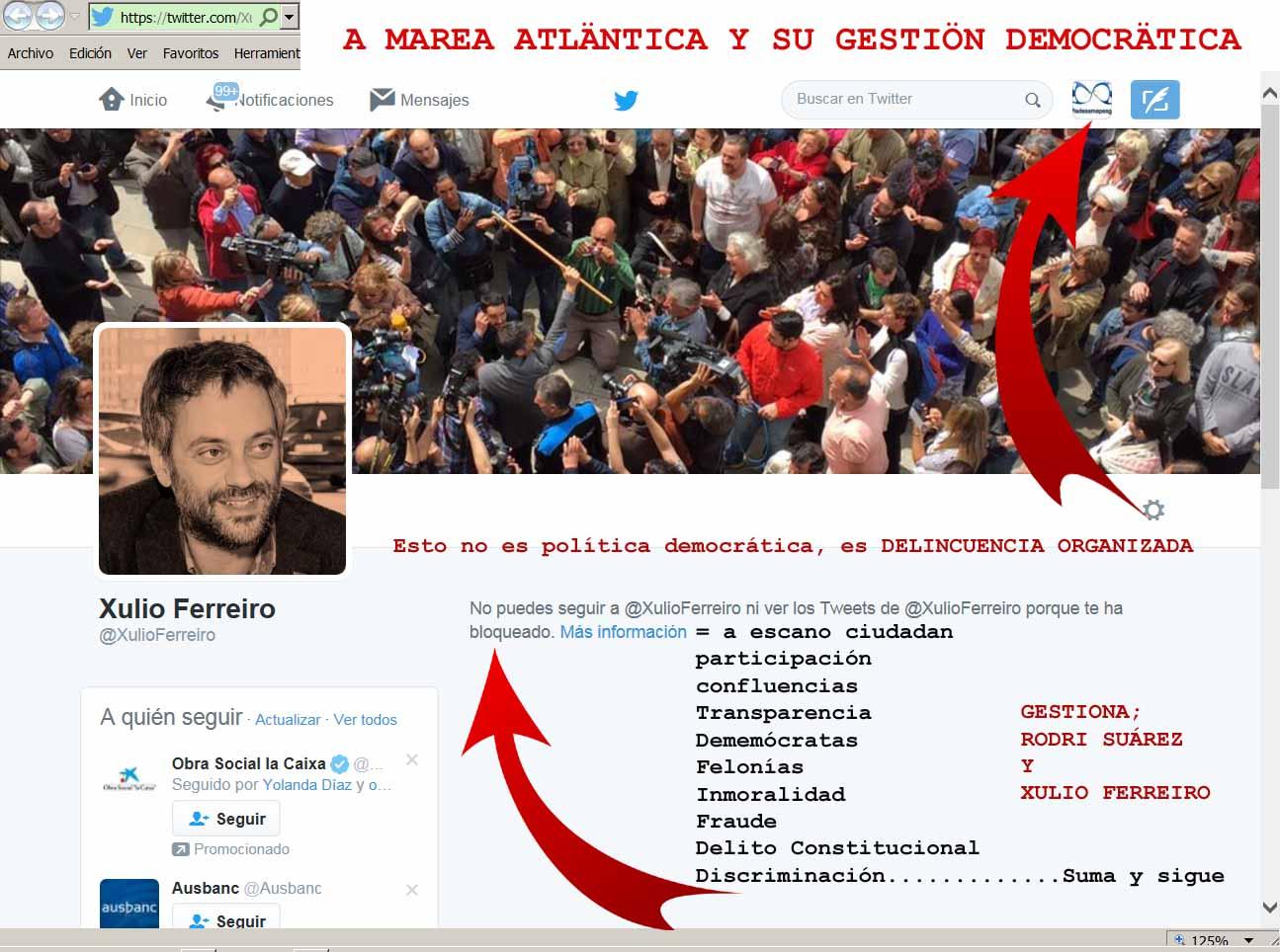 #Transparencia de #XulioFerreiro una #BurlaNegra del #fuel que mancha #MaríaPita bajo una #faltadeprestige total