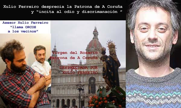 """@XulioFerreiro amenzaza con multas a los vecinos de a Coruña si se quejan a los """"chiringuitos"""" ciudadanos del abandono y suciedad de la Ciudad."""